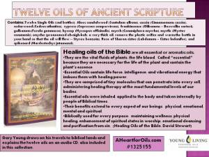 12 Oils of Scripture