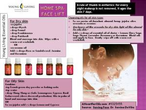 Home Spa Face Lift